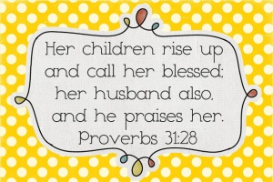proverbs 31-28 yellow